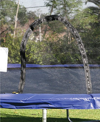 Airzone 14 Spring Trampoline And Enclosure Set: Airzone 8' Spring Trampoline With Safety Enclosure