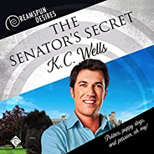 The Senator's Secret Audiobook by K C Wells Narrated by John Solo