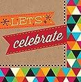 Birthday Kraft Lets Celebrate Lunch Napkins 16 Per Pack