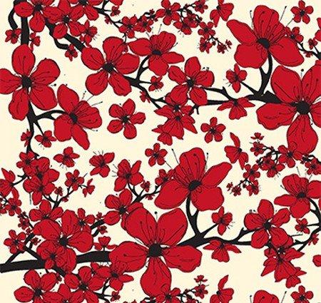 China Glaze Appliques - Cherry Blossoms - 606500
