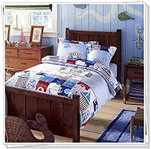 Amazon.com: Embroidery Kids Bedding Set Duvet Cover for Bed Sheet Ropa