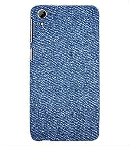 PrintDhaba Denim D-2411 Back Case Cover for HTC DESIRE 826 (Multi-Coloured)