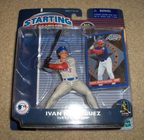 Ivan Rodriguez MLB Starting Lineup 2 Figure by Starting Line Up - 1