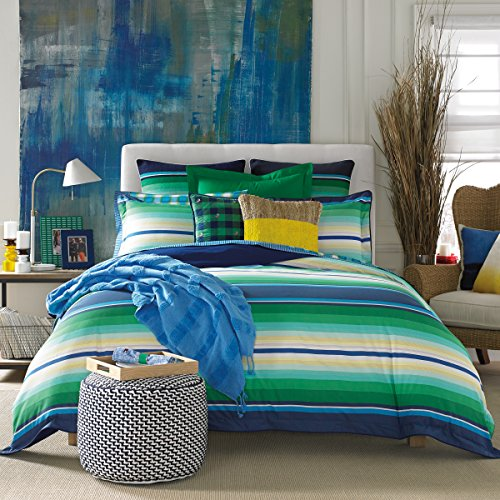 Tommy Hilfiger Bighorn Bed Set, Full/Queen, Green