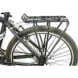 douself® Porte-vélos Bicyclette Porte-bagages Arrière de Vélo/Bicyclette Support d'étagère de Vélo/Bicyclette VTT En Alliage d'Aluminium pour Frein à Disque/V-freins de Vélo