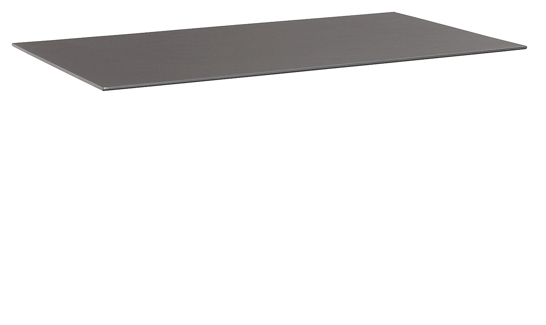 KETTLER Advantage Esstische Kettalux Plus Tischplatte 160 x 95 cm Schieferoptik, schwarz