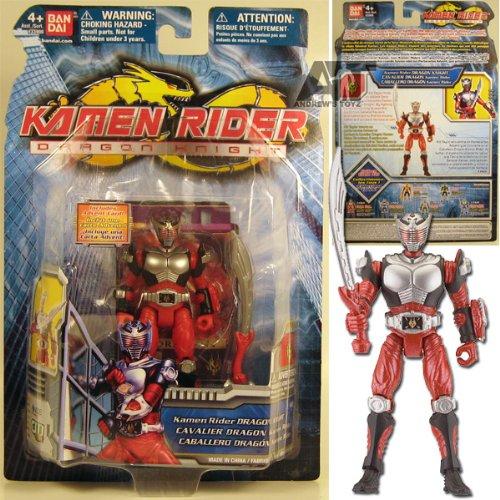 Kamen Rider Dragon Knight 4 inch Collectible Figure