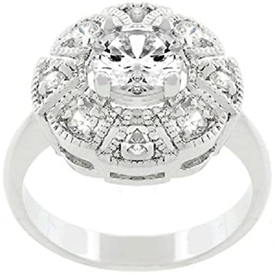 Generic Women's Daily Crystal Wedding Ring