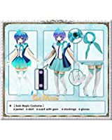Vocaloid - Aoki Lapis Cosplay Costume [Deluxe Set]