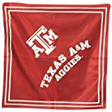 Texas A&M Aggies Jersey Style Bandanas (Measures 22