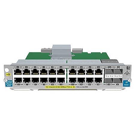 HP Module d'extension Ethernet, Fast Ethernet, Gigabit Ethernet 10Base-T, 100Base-TX, 1000Base-T 20 ports + 4 x SFP