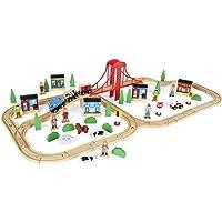 Imaginarium Express 80+ Piece Mega Train World Set
