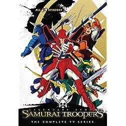 Samurai Troopers Complete TV Series