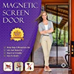 Magnetic Screen Door, Mesh Curtain -...