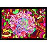 Dance Of Colours 04 Canvas Medium ( 46 In X 32 In )