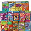 Jacqueline Wilson Collection Nick Sharrat 14 Books Set (The Story of Tracy Beaker, Bad Girls, The Dare Game, The Lottie Project, Cliffhanger, The Illustrated Mum, The Bed And Breakfast Star, Double Act, The Suitcase Kid, Buried Alive!, etc)