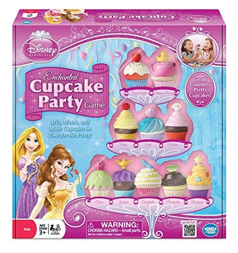 Wonder Forge Mens Disney Princess Enchanted Cupcake Game