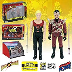 Flash Gordon Hawk City Scene 3 3/4-Inch Figure Set-Con.Excl.