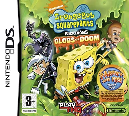 Spongebob Squarepants: Globs of Doom (Nintendo DS) by THQ