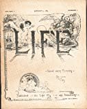 Life, Volume I, January 4, 1883, Number 1 [Miniature Facsimile]