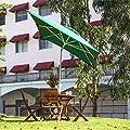 Gartenschirm 2 x 3 m quadratisch wasserabweisend - mit Dreh-Kipp-Mechanismus Ampelschirm Sonnenschirm, Dunkelgrün von Abba Patio - Gartenmöbel von Du und Dein Garten