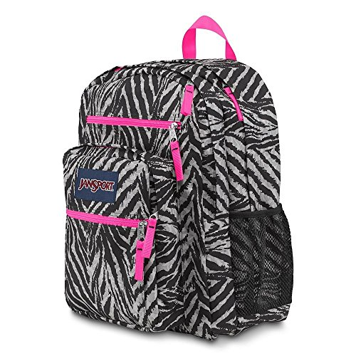 Purchase JanSport Big Student Backpack case school book storage bag zebra