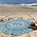 Xinan Round Strand Pool Home Duschtuch Decke Tischdecke Yoga-Matte
