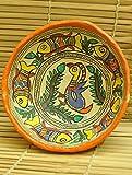 The India Craft House Papier Mache Madhubani Art On papier Mache Basket - 4.5