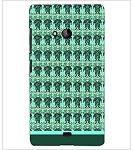 PrintDhaba Owl pattern D-1761 Back Case Cover for MICROSOFT LUMIA 540 (Multi-Coloured)