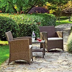 gleneagles rattan bistro set garden outdoors
