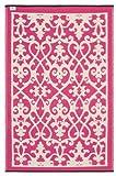 Venice - Cream & Pink (4' x 6')