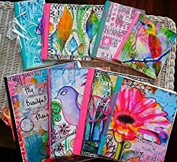 Handmade Meadori 9 x 12 Art Journal with 60 removable pages