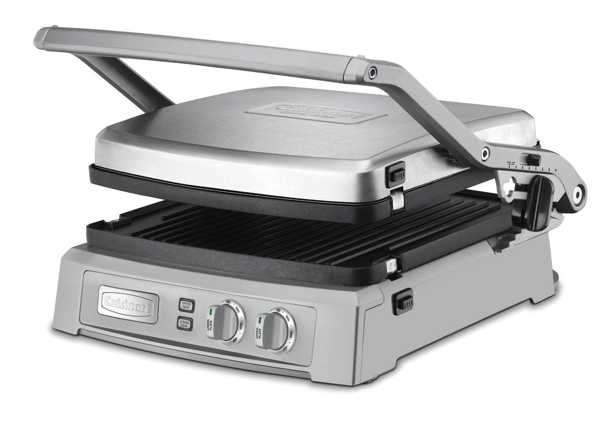 Cuisinart GR-150 Griddler Deluxe, Brushed Stainless $145 after $15 coupon