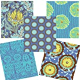Amy Butler Soul Blossoms Fat Quarter Material Pack for Patchwork and Quilting Projects