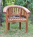 Teakholz Sessel Bananensessel Gartensessel Holzsessel von Strandkorbwerk auf Gartenmöbel von Du und Dein Garten