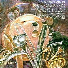 Lambert:Piano Concerto etc.