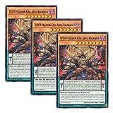 【 3枚セット 】遊戯王 英語版 DOCS-EN099 D/D/D Oblivion King Abyss Ragnarok DDD壊薙王アビス・ラグナロク (レア) 1st Edition