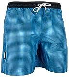 GUGGEN MOUNTAIN Herren Badeshorts Beachshorts Boardshorts Badehose kariert *verschiedene Farben*