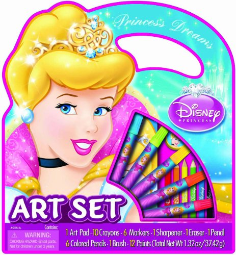 Bendon Disney Cinderella Character Art Tote Activity Set