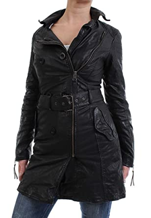 Maze Ledermantel Women - NEWRY - Black