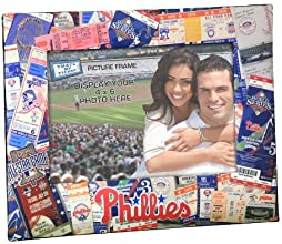 MLB Ticket Collage 4x6 Picture Frame  ColorPhiladelphia Phillies by That39s My Ticket