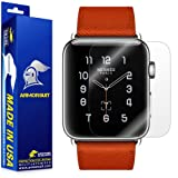 ArmorSuit Apple Watch 42mm (Series 2/3 Compatible) Screen Protector (2 Pack) Full Coverage MilitaryShield Screen Protector for Apple Watch 42mm (Series 2/3 Compatible) -HD Clear Anti-Bubble