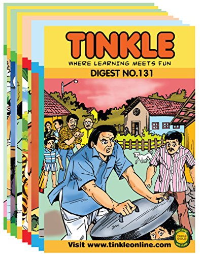 Tinkle Digest 10 in 1 (Vol - 131, 132, 133, 134, 135, 136, 137, 138, 139 & 140) Image