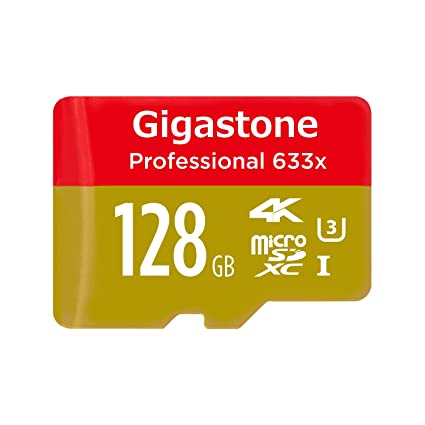 Gigastone Pro 128GB Micro SD Card U3 4K up to 95MB s Memory SD Card Adapter 1 at amazon
