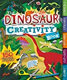 img - for The Dinosaur Creativity Book: Games, Cut-Outs, Art Paper, Stickers, and Stencils (Creativity Books) book / textbook / text book