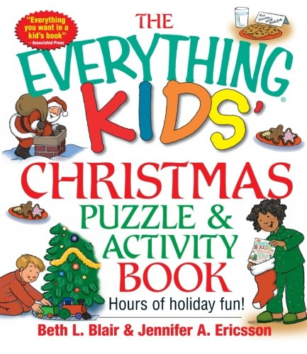 Everything Kids Christmas Puzzle And Activity Book: Mazes, A