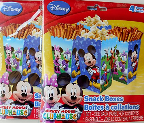 Mickey Mouse Clubhouse Snack Boxes