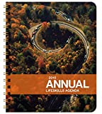 2015 Action Annual Weekly Day Planner January 2015 - December 2015 Agenda Organizer Calendar Beautiful, Functional Design, 7 x 8.5 inches 144 pages Made in Colorado, USA.
