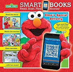 Sesame Street: Elmo's Special Delivery (Smart Book)