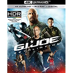G.I. Joe: Retaliation [4K Ultra HD + Blu-ray]